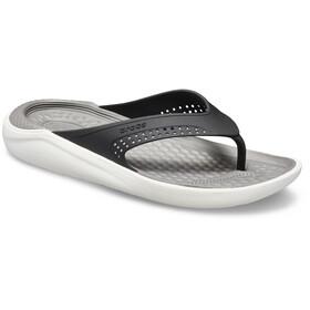 Crocs LiteRide - Sandalias - blanco/negro
